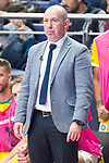 Jaen P. Interior coach Daniel Rodriguez Martinez during Semi-Finals Futsal Spanish Cup 2018 at Wizink Center in Madrid , Spain. March 17, 2018. (ALTERPHOTOS/Borja B.Hojas)