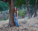 Rachel Portrait, Santa Margarita, California