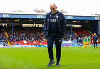Preston North End manager Alex Neil<br /> <br /> Photographer Alex Dodd/CameraSport<br /> <br /> The EFL Sky Bet Championship - Blackburn Rovers v Preston North End - Saturday 9th March 2019 - Ewood Park - Blackburn<br /> <br /> World Copyright © 2019 CameraSport. All rights reserved. 43 Linden Ave. Countesthorpe. Leicester. England. LE8 5PG - Tel: +44 (0) 116 277 4147 - admin@camerasport.com - www.camerasport.com