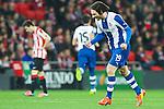 BILBAO. ESPA&Ntilde;A. FUTBOL.<br /> Partido de la Liga BBVA entre Athletic Club y Espanyol; a 16-02-14. <br /> En la imagen :<br /> 19Diego Colotto (Espanyol Barcelona)<br /> PPHOTOCALL3000 / RME