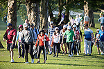 Spectators during the 58th UBS Hong Kong Golf Open as part of the European Tour on 10 December 2016, at the Hong Kong Golf Club, Fanling, Hong Kong, China. Photo by Vivek Prakash / Power Sport Images