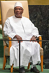 DSG meeting<br /> <br /> AM Plenary General DebateHis<br /> <br /> <br />  His Excellency Ibrahim Boubacar Keita, President, Republic of Mali