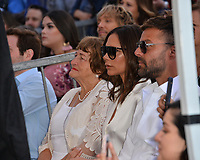 Ella Eva Mireles, Victoria Beckman &amp; Ricky Martin at the Hollywood Walk of Fame Star Ceremony honoring actress Eva Longoria, Los Angeles, USA 16 April 2018<br /> Picture: Paul Smith/Featureflash/SilverHub 0208 004 5359 sales@silverhubmedia.com