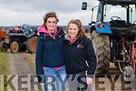 Suzie De Ris, Abbeydorney and Emer Quinlan, Lixnaw. enjoying the Abbeydorney Ploughing Match at Corridan's Farm, Ballysheen on Monday