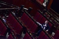 Roma, 27 Aprile 2015<br /> La legge elettorale approda alla Camera dei Deputati.<br /> Gianni Cuperlo
