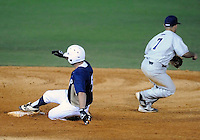 Florida International University infielder/outfielder Tyler James Shantz (5) plays against Florida Atlantic University. FAU won the game 5-1 on March 16, 2012 at Miami, Florida.