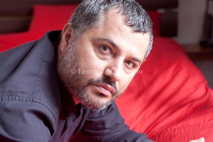 "The novel ""Nina wolves"" writen by Alessandro Bertante and published by Marsilio was nominated for the Premio Strega. 2011, Vittuone, ( Milano ).  © Leonardo Cendamo"