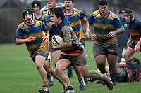 Hurricanes U15 Rugby - St Peter's College v John McGlashan College at Trentham Memorial Park, Upper Hutt, New Zealand on Thursday 5 September 2019. <br /> Photo by Masanori Udagawa. <br /> www.photowellington.photoshelter.com