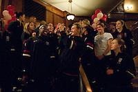 DENVER, CO--2012 NCAA Women's Final Four arrivals.