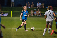 Kansas City, MO - Saturday July 22, 2017: Becky Sauerbrunn during a regular season National Women's Soccer League (NWSL) match between FC Kansas City and the North Carolina Courage at Children's Mercy Victory Field.