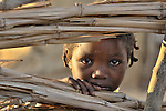 A child in a camp for internally displaced people outside Kubum. More than 2.2 million IDPs are living in camps like this in the Darfur region.