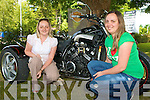 Jana Sweeney, Milltown and Santa Suambe, Tralee enjoying the Ireland Bike Fest in Killarney on Sunday.