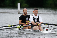 MasB.2x QF -  Berks: 210 Leicester RC -  Bucks: 211 Broadlands BC<br /> <br /> Friday - Henley Masters Regatta 2016<br /> <br /> To purchase this photo, or to see pricing information for Prints and Downloads, click the blue 'Add to Cart' button at the top-right of the page.