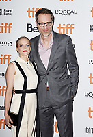 "TORONTO, ONTARIO - SEPTEMBER 08: Mircea Monroe, Stephen Merchant attends the ""Jojo Rabbit"" premiere during the 2019 Toronto International Film Festival at Princess of Wales Theatre on September 08, 2019 in Toronto, Canada. <br /> CAP/MPIIS<br /> ©MPIIS/Capital Pictures"