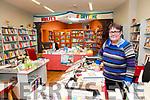 Brenda Woulfe in her Listowel Bookshop.