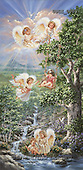 Dona Gelsinger, CHILDREN, paintings(USGE0004,#K#) Kinder, niños, illustrations, pinturas angels, ,everyday