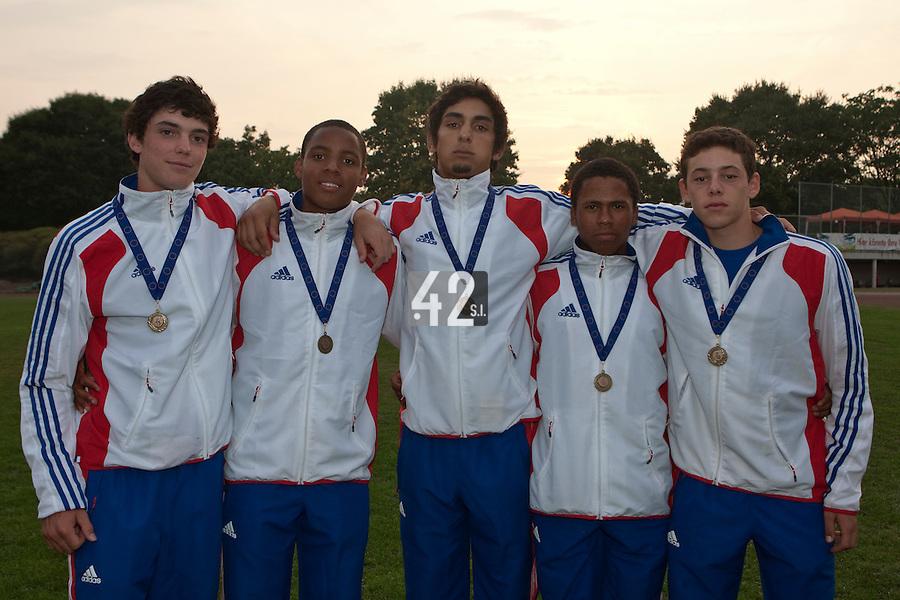 Baseball - 2009 European Championship Juniors (under 18 years old) - Bonn (Germany) - 09/08/2009 - Day 7 - Team France