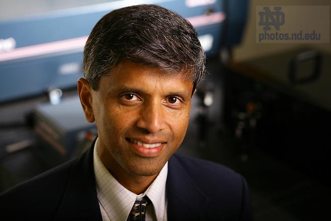 Professor Prashant Kamat..Photo by Matt Cashore..