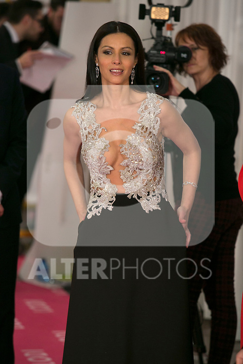 Ana Alvarez attend the 2015 Goya Awards at Auditorium Hotel, Madrid,  Spain. February 07, 2015.(ALTERPHOTOS/)Carlos Dafonte)