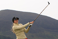 Vanessa Knecht (SWI) on the 2nd tee during Round 2 of the Women's Amateur Championship at Royal County Down Golf Club in Newcastle Co. Down on Wednesday 12th June 2019.<br /> Picture:  Thos Caffrey / www.golffile.ie