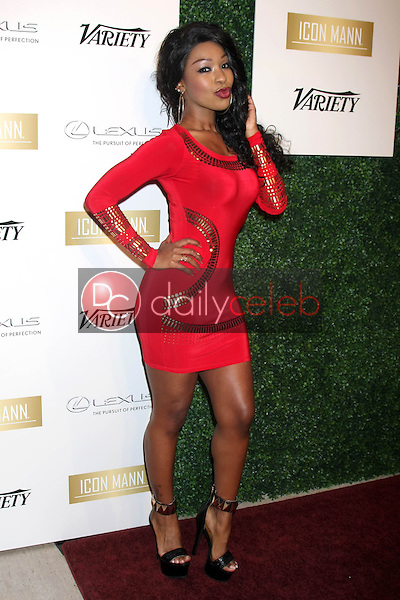 Porsche Coleman<br /> at the ICON Mann Power Dinner Party, Mr C Beverly Hills, Beverly Hills, CA 02-18-15<br /> David Edwards/DailyCeleb.com 818-249-4998
