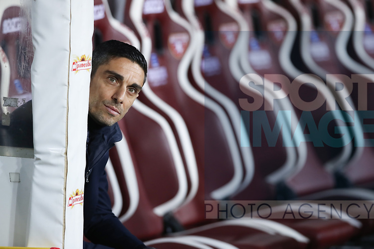 Moreno Longo Head coach of Torino FC during the Serie A match at Stadio Grande Torino, Turin. Picture date: 8th February 2020. Picture credit should read: Jonathan Moscrop/Sportimage