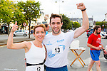 Tim Long and his sister Siobhian were the first two home in the Castleisland 5km  road race on Friday evening