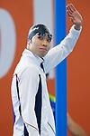 Kosuke Hagino (JPN), <br /> AUGUST 20, 2018 - Swimming : <br /> Men's 200m Individual Medley Heat <br /> at Gelora Bung Karno Aquatic Center <br /> during the 2018 Jakarta Palembang Asian Games <br /> in Jakarta, Indonesia. <br /> (Photo by Naoki Morita/AFLO SPORT)