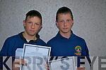 Twins: David and Seosamh Redican   Copyright Kerry's Eye 2008