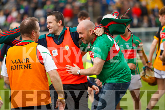 Cotta O'Neills Players celebrate winning the Minor Hurling County Final  Abbeydorney/Tralee Parnells at Austin Stack Park on Sunday.
