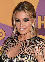BEVERLY HILLS, CA - JANUARY 07: Model/actress Carmen Electra arrives at HBO's Official Golden Globe Awards After Party at Circa 55 Restaurant in the Beverly Hilton Hotel on January 7, 2018 in Los Angeles, California.