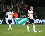 Tottenham's Harry Kane looks on dejected after West Ham's opening goal during the Premier League match at the London Stadium, London. Picture date: May 5th, 2017. Pic credit should read: David Klein/Sportimage