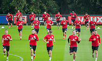 Wales Training Session - 31.08.2016