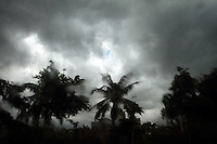 A tropical storm descends upon Zhanjiang, Guangdong Province. 2010
