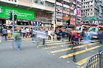 Honk Kong Streets, man Kok  Hong Kong, Mong Kok streets