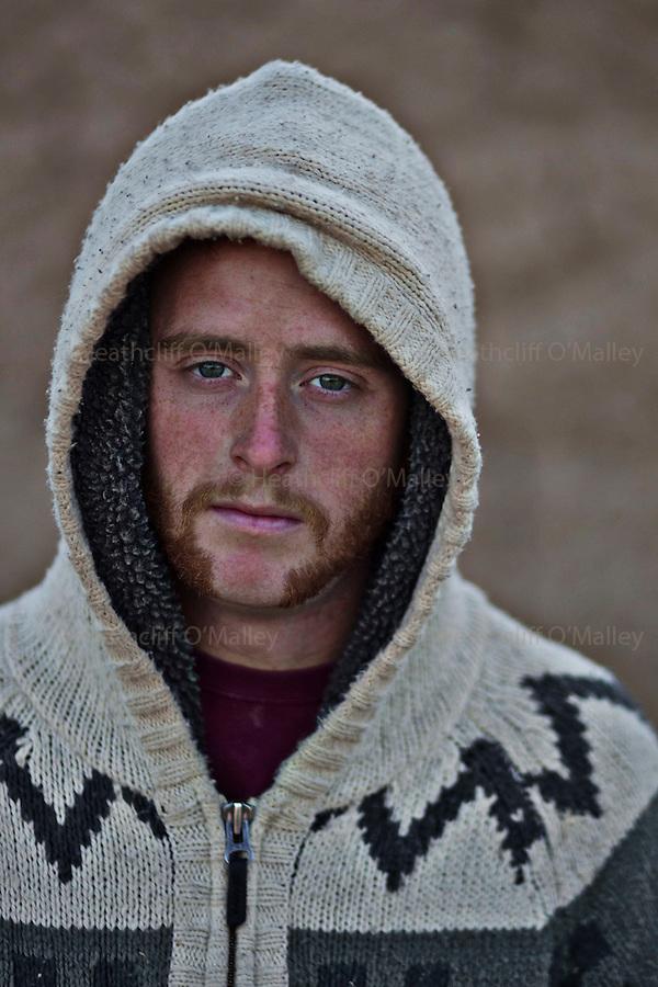 Mcc0027461 . Daily Telegraph..LCpl Aidan Cleverly..Portraits of men from 5 Platoon, B Coy, 3 Para in PB Washiran..Helmand 27 November 2010