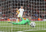 Basel's Tomas Vaclik can only watch as Arsenal's Theo Walcott scores his sides second goal during the Champions League group A match at the Emirates Stadium, London. Picture date September 28th, 2016 Pic David Klein/Sportimage