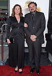 Julio Macat and Elizabeth Perkins attends The Universal Pictures' World Premiere of The Boss held at The Regency Village Theatre  in Westwood, California on March 28,2016                                                                               ©2016 Hollywood Press Agency