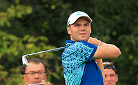 Martin Kaymer (GER) on the 6th tee during Round 1 of the D+D Real Czech Masters at the Albatross Golf Resort, Prague, Czech Rep. 31/08/2017<br /> Picture: Golffile | Thos Caffrey<br /> <br /> <br /> All photo usage must carry mandatory copyright credit     (&copy; Golffile | Thos Caffrey)