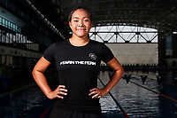 Tupou Neiufi, New Zealand swimming team announcement for the 2018 Commonwealth Games. Sir Owen G. Glenn National Aquatic Centre, Auckland. 22 December 2017. Copyright Image: William Booth / www.photosport.nz
