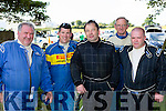 Drivers James Lehane Knocknagree, Peter Brennan Kilkenny, Tom Sullivan, Jimmy Lucey and Tom Daly Killarney check out the course at the Killarney Autocross in Muckross on Sunday