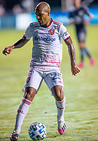 17th July 2020, Orlando, Florida, USA;  Real Salt Lake midfielder Everton Luiz (25) during the MLS Is Back Tournament between the Real Salt Lake versus Minnesota United FC on July 17, 2020 at the ESPN Wide World of Sports, Orlando FL.