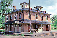 Galena: Railroad Depot. Photo '77.
