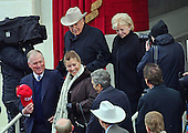 Former United States Vice President Dan Quayle and his wife, Marilyn, and former US Vice President Dick Cheney and his wife, Lynne, arrive for the ceremony where Donald J. Trump is to be sworn-in as the 45th President of the United States on the West Front of the US Capitol on Friday, January 20, 2017.<br /> Credit: Ron Sachs / CNP<br /> (RESTRICTION: NO New York or New Jersey Newspapers or newspapers within a 75 mile radius of New York City)