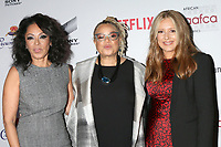LOS ANGELES - JAN 22:  Debra Martin Chase, Kasi Lemmons, and Daniela Taplin Lundberg at the 2020 African American Film Critics Association Awards at the Taglyan Complex on January 22, 2020 in Los Angeles, CA