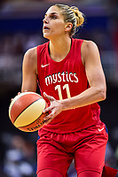 Washington, DC - July 13, 2018: Washington Mystics guard Elena Delle Donne (11) in action during game between the Washington Mystics and Chicago Sky at the Capital One Arena in Washington, DC. The Mystics defeat the Sky 88-72 (Photo by Phil Peters/Media Images International)