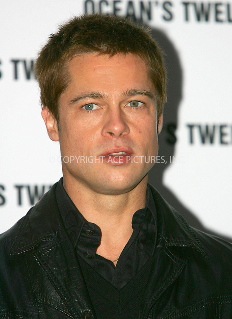 WWW.ACEPIXS.COM . . . . .  ... . . . . US SALES ONLY . . . . .....BERLIN, DECEMBER 15, 2004....Brad Pitt at the German premiere of Ocean's Twelve.....Please byline: FAMOUS-ACE PICTURES-G. SCHOBER... . . . .  ....Ace Pictures, Inc:  ..Alecsey Boldeskul (646) 267-6913 ..Philip Vaughan (646) 769-0430..e-mail: info@acepixs.com..web: http://www.acepixs.com