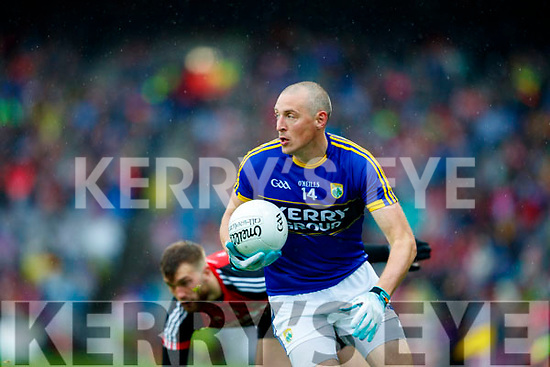 Kieran Donaghy Kerry in action against  Mayo in the All Ireland Semi Final in Croke Park on Sunday.