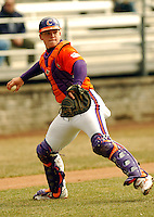 Clemson C Phil Pohl at Shea Field March 28, 2009 in Chestnut Hill, MA (Photo by Ken Babbitt/Four Seam Images)