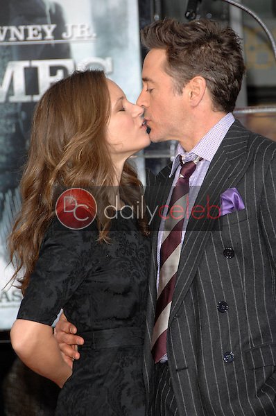 Robert Downey Jr. and wife Susan Levin<br />